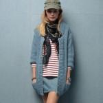 photo tricot modèle tricot femme gilet 2