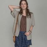 photo tricot modèle tricot femme gilet 5