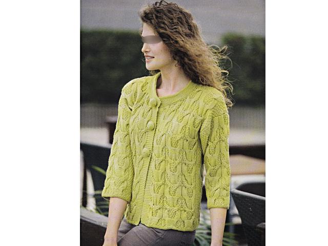 modeles de gilets femmes au tricot