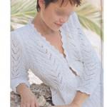 photo tricot modèle tricot femme gilet 9