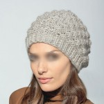 photo tricot modèle tricot gratuit bonnet femme 12