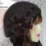 photo tricot modèle tricot gratuit bonnet femme 18