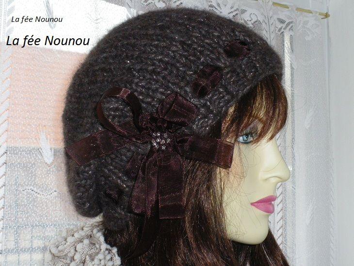 Modele tricot gratuit pour femme bonnet - Modele tricot bonnet femme facile ...