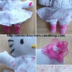 photo tricot modèle tricot hello kitty musical plush 7