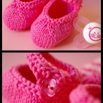 photo tricot modèle tricot jersey chausson bébé gratuit 12