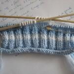 photo tricot modèle tricot jersey chausson bébé gratuit 14