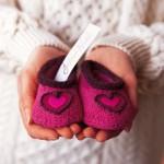 photo tricot modèle tricot jersey chausson bébé gratuit 16