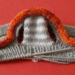 photo tricot modèle tricot jersey chausson bébé gratuit 5