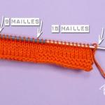 photo tricot modèle tricot jersey chausson bébé gratuit 9
