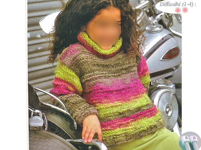 photo tricot modèle tricot jersey qui roule 12