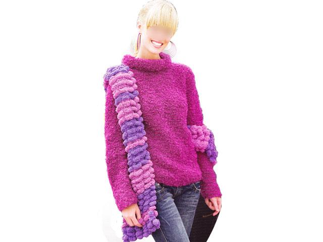 photo tricot modèle tricot jersey qui roule 2