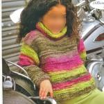 photo tricot modèle tricot jersey qui s enroule 12
