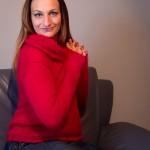 photo tricot modèle tricot jersey qui s enroule 2