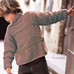 photo tricot modèle tricot jersey qui s enroule 8