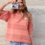 photo tricot modèle tricot jersey simple gratuit 3