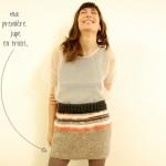 photo tricot modèle tricot jupe 12