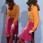 photo tricot modèle tricot jupe 14