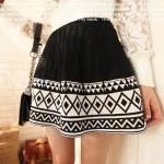 photo tricot modèle tricot jupe 15