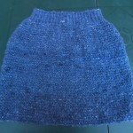 photo tricot modèle tricot jupe