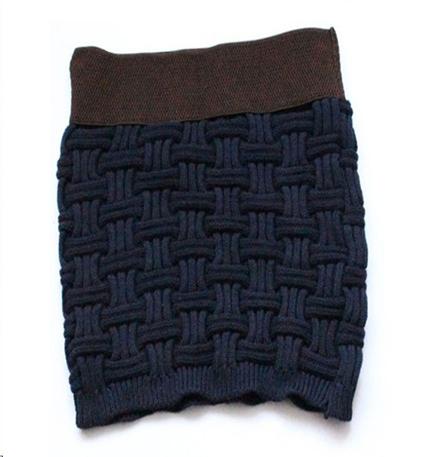 modele jupe au tricot
