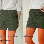 photo tricot modèle tricot jupe 18