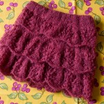 photo tricot modèle tricot jupe 2