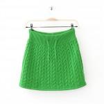 photo tricot modèle tricot jupe 3