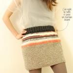 photo tricot modèle tricot jupe 5