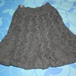 photo tricot modèle tricot jupe 7