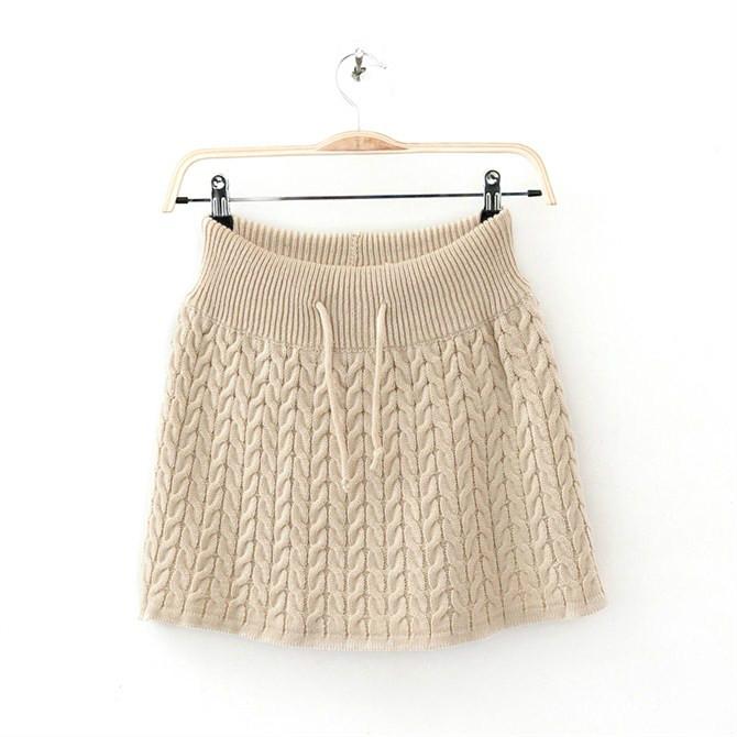 modele jupe tricot gratuit