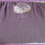 photo tricot modèle tricot nid dabeille gravier 12