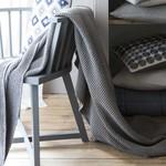 photo tricot modèle tricot nid dabeille gravier 7