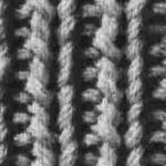 photo tricot modèle tricot point de riz le 6