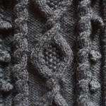 photo tricot modèle tricot point de riz le 9