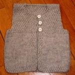 photo tricot modèle tricot point de riz point de blé 11
