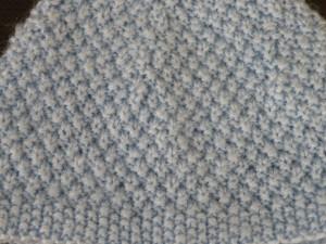 photo tricot mod le tricot point de riz point de bl 12. Black Bedroom Furniture Sets. Home Design Ideas