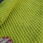 photo tricot modèle tricot point de riz point de blé 17