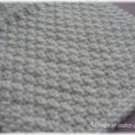 photo tricot modèle tricot point de riz point de blé 18