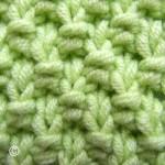 photo tricot modèle tricot point de riz point de blé 9