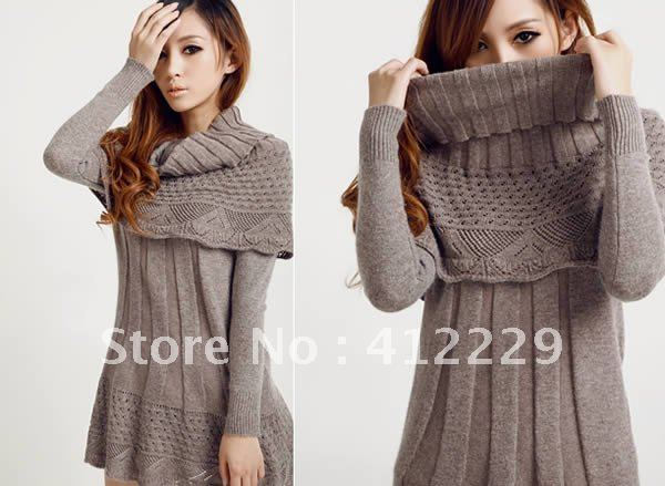 Patron tricot robe pull