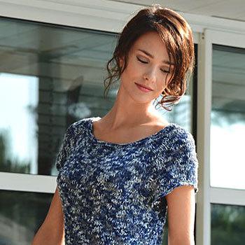 Modele tricot robe pull femme