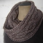 photo tricot modèle tricot snood homme 10