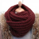 photo tricot modèle tricot snood homme 11