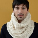 photo tricot modèle tricot snood homme 14