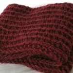 photo tricot modèle tricot snood homme
