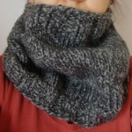 photo tricot modèle tricot snood homme 16