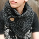 photo tricot modèle tricot snood homme 17