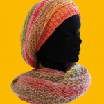photo tricot modèle tricot snood idee 13