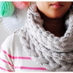 photo tricot modèle tricot snood idee 14
