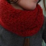 photo tricot modèle tricot snood idee 15